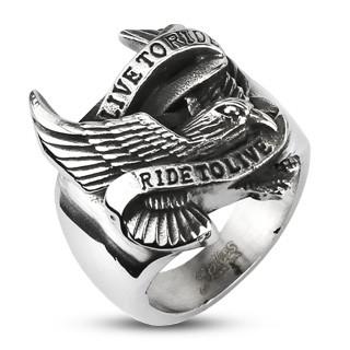 Motorkářský prsten 11894
