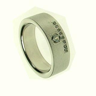 Ocelový prsten SELJR731