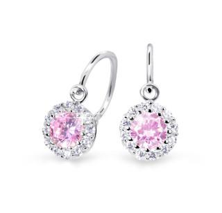 Náušnice pro miminko zlaté Cutie Jewellery C2745B-Růžová