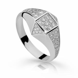 Prstýnek stříbrný se zirkony 2310