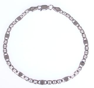 Náramek na ruku stříbro 302455