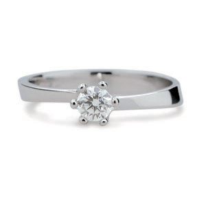 Prsten se zirkonem stříbro 1903