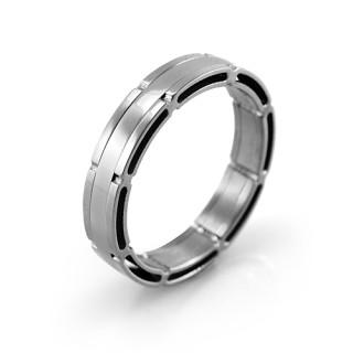 Ocelový prsten MCRSS035