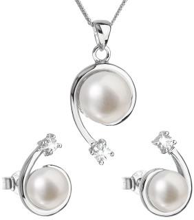 Stříbrný set perlových špeků 29031.1