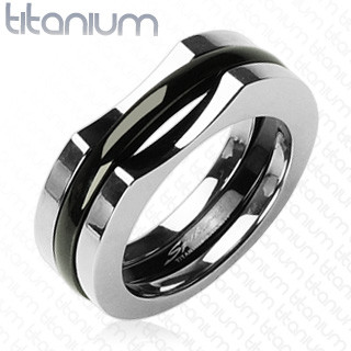 Titanový prsten Spikes 0804