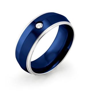 Ocelový prsten MCRSS009