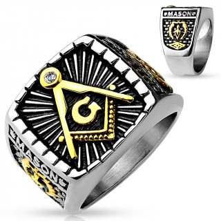 Pečetní prsten pro muže 4659