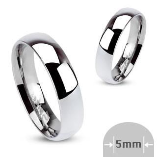 Ocelové snubní prsteny Spikes 001-5