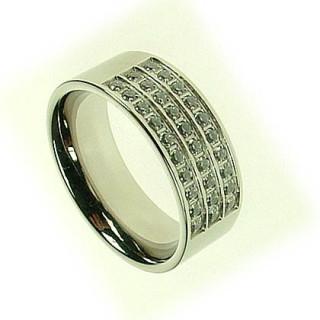 Ocelový prsten SELJR374