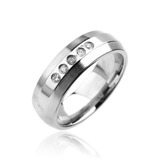 Ocelový prsten Spikes-6960