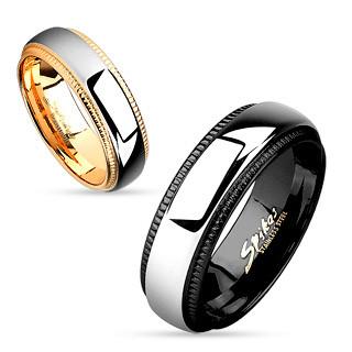 Snubní prsteny chirurgická ocel 4638