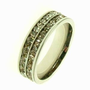 Ocelový prsten R1188