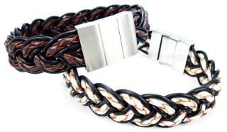 Kožený náramek Bandito 061