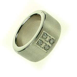 Ocelový prsten SELJR350