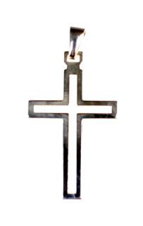 Stříbrný křížek 302025