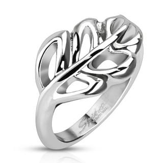 Ocelový prsten Spikes 5378