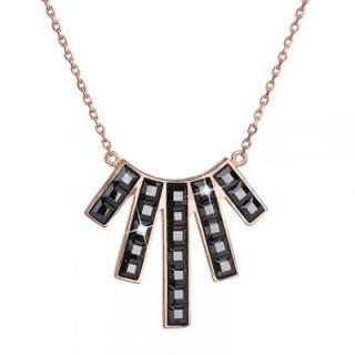 Dámský náhrdelník 32024.5 hematite AuR
