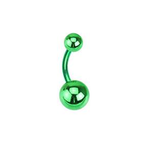 Piercing pupíku 00NN-GREEN