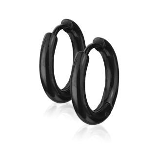 Kruhové náušnice 3065-BK