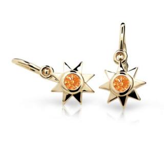 Náušnice pro miminko Cutie C1995Z-Orange