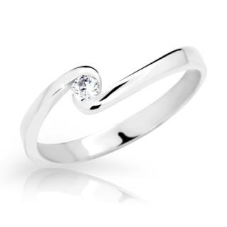 Prsten se zirkonem stříbro 1934