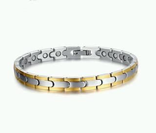 Magnetický náramek z chirurgické oceli JCFSBRM044