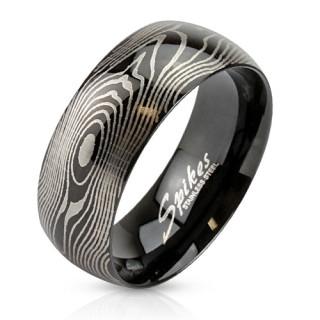 Ocelový prsten Spikes 2782