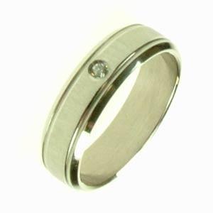 Ocelový prsten R1423B