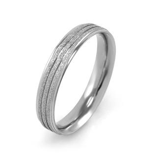 Ocelový snubní prsten MCRSS022
