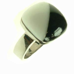 Ocelový prsten R1232