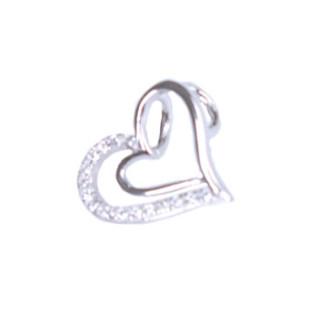 Stříbrné srdce 302080