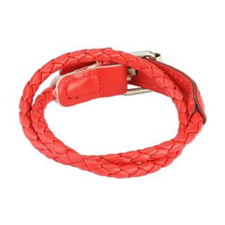 Kožený náramek 131 Red