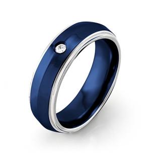 Ocelový prsten MCRSS008