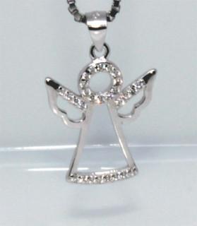 Přívěšek stříbrný anděl 307868