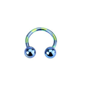 Piercing ucha T11-BLUE1,2