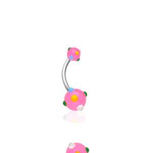 Piercing pupíku 1622-ROSE