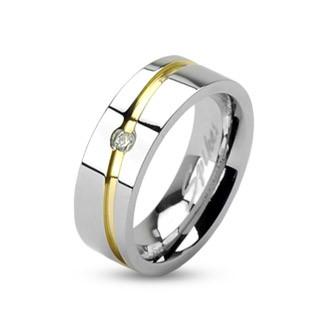 Ocelový prsten Spikes Z1002