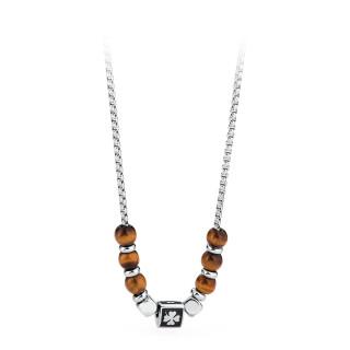Pánský ocelový náhrdelník Brosway Tres Jolie BTJNS11