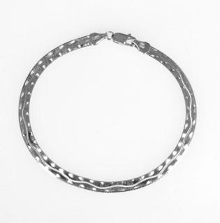 Náramek stříbro 925/000