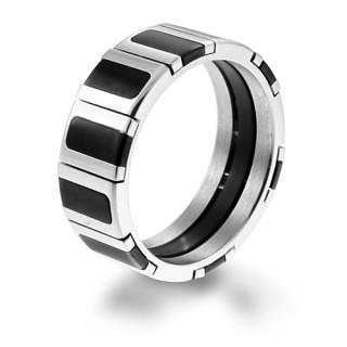 Ocelový prsten MCRSS005