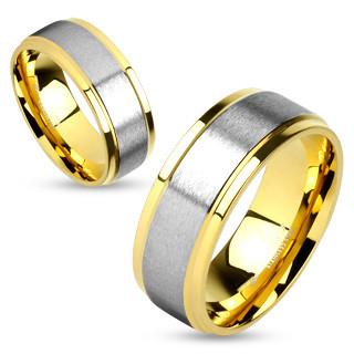 Snubní prsteny chirurgická ocel 4586