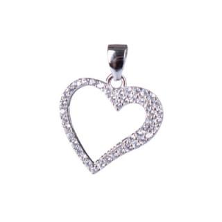 Stříbrné srdce 303086