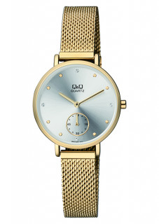 Dámské hodinky zlaté QA97J001Y