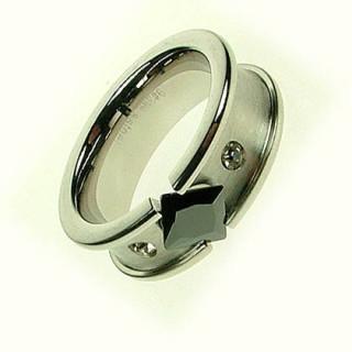 Ocelový prsten Z1042