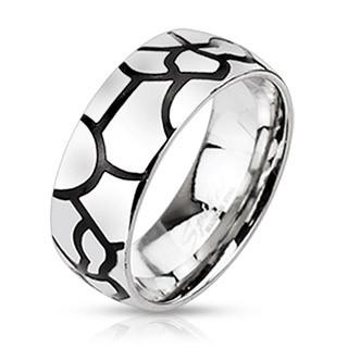 Ocelový prsten Spikes 2183