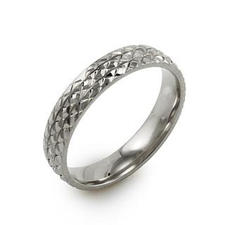 Ocelový snubní prsten MCRSS021