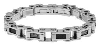Pánský ocelový náramek na ruku 1108