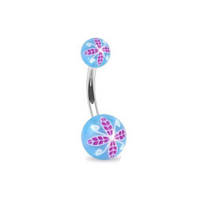 Piercing pupíku 1108 - Blue